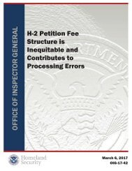 H-2 Petition Fee Structure is Inequitable and Contributes to Processing Errors