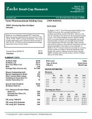 t Small-Cap Research