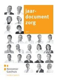 jaar- document zorg - Kennemer Gasthuis