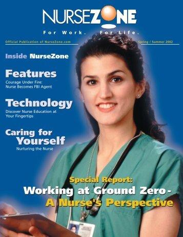Features Technology Yourself Features ... - NurseZone.com