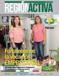 REVISTA REGIÓN ACTIVA EDICIÓN No. 5 - DICIEMBRE 2016