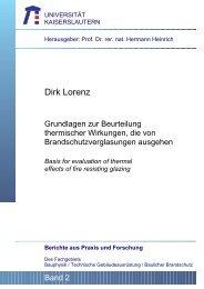 Grundlagen zur Beurteilung thermischer Wirkungen ... - IBB Lorenz