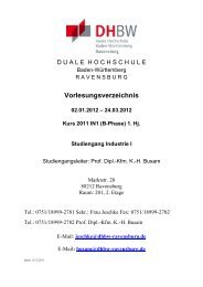 24.03.2012 Kurs 2011 IN1 (B-Phase) 1. Hj. Studiengang Industrie I