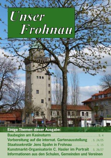 """""""Unser Frohnau"""" März 2017"""
