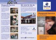 Pluspunkt Service - Terra IT Welt