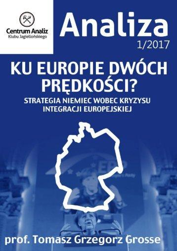 Europejskiej integracji geoekonomii