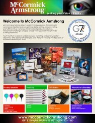 www.mccormickarmstrong.com Welcome to McCormick Armstrong