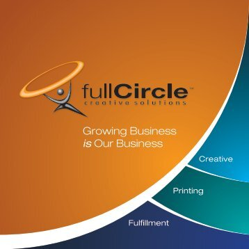 Growing Business is Our Business - Full Circle Creative