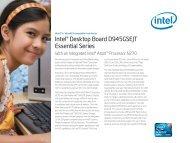 Intel® Desktop Board D945GSEJT Essential Series - Mini-Box.com