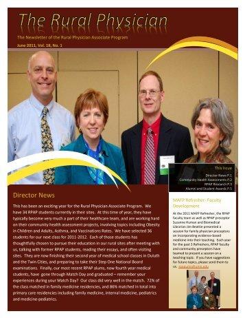 Rural Physician - University of Minnesota Medical School