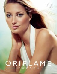 ANNUAL REPORT 2011 - Investor Relations - Oriflame