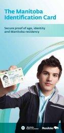 The Manitoba Identification Card - Manitoba Public Insurance