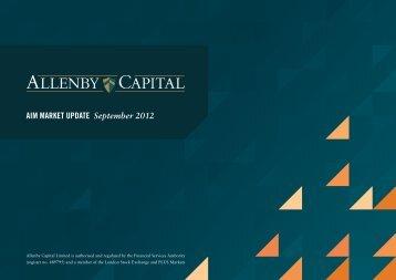 AlM MARKET UPDATE September 2012 - HB Markets