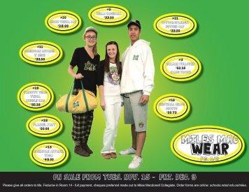 MMC Wear Catalogue