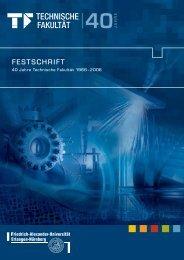 Festschrift TF - Maschinenbau - Friedrich-Alexander-Universität ...