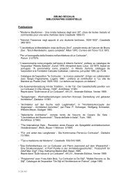BRUNO REICHLIN BIBLIOGRAPHIE ESSENTIELLE Publications ...