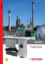 Guide to the ATEX directives - Scame Parre S.p.A.