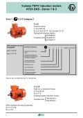 3-phase TEFV induction motors ATEX GAS - Zones 1 & 2 - Page 4