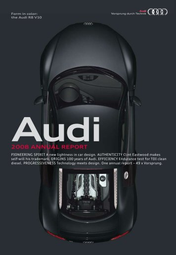2008 Annual Report (13 MB) - Audi