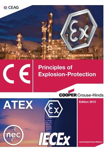 Principles of Explosion-Protection - Cooper Crouse-Hinds