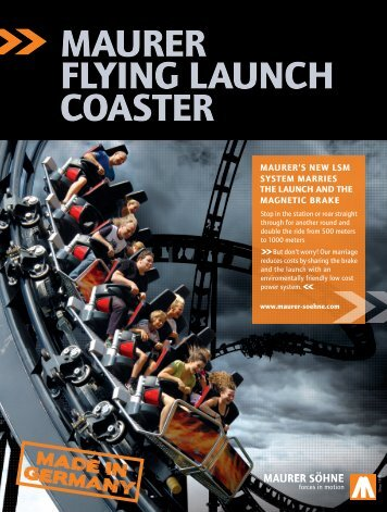 MAURER FLYING LAUNCH COASTER - Maurer Rides