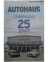 Autohaus 25 Years Anniversary! - Autohaus Cayman