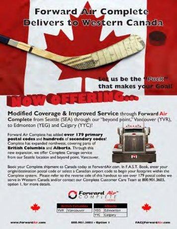Canada poster- front FINAL - Forward Air