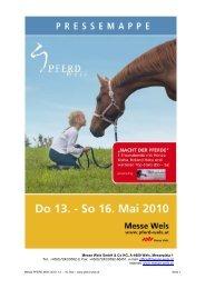 Messe Wels GmbH & Co KG, A-4600 Wels, Messeplatz 1 Tel.: +43(0 ...