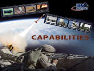 Capabilities Overview - BFA Systems, Inc.