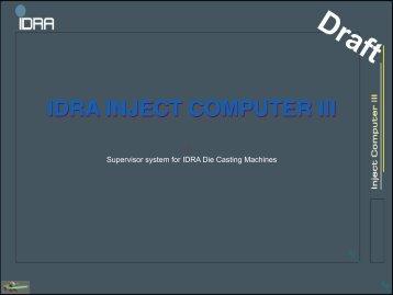 IDRA INJECT COMPUTER III - Final - Idra Group
