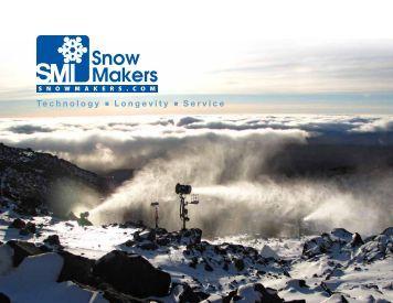 SMI Company Catalogue (pdf) - Snow Machines, Inc.