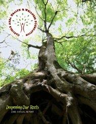hwf-annual report 08 - Carlisle Area Health & Wellness Foundation