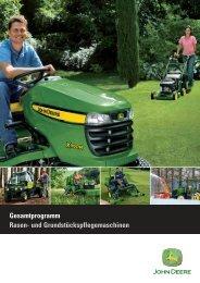 Gesamtprogramm Kommunal- Rasenpflege - Lagerhaus Korneuburg