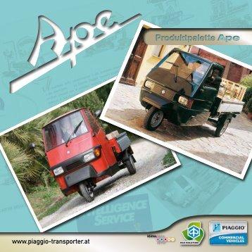 calessino - Piaggio-Transporter