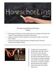 The Home School Education Initiative - Page 2