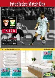 Estadística Match Day
