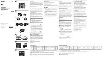 Sony SAL18250 - SAL18250 Consignes d'utilisation Portugais