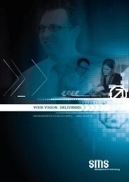 YOUR VISION. DELIVERED. - SMS Management & Technology