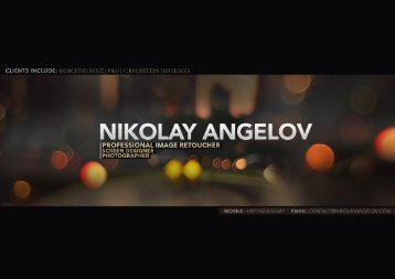 Download Portfolio - Nikolay Angelov Professional Retoucher