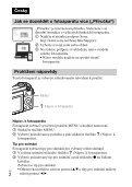 Sony ILCE-5000L - ILCE-5000L Consignes d'utilisation Tchèque - Page 2