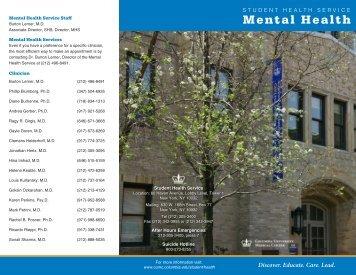 Mental Health - Sonali Sharma, MD, MSc