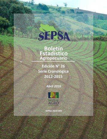boletin estadistico agropecuario 2016
