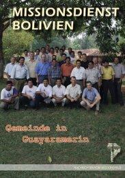 Jugendarbeit in der Gemeinde Cristiana Central - DWG Radio