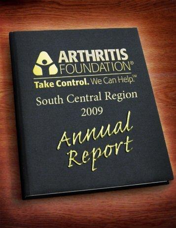 2009 Annual Report - Arthritis Foundation