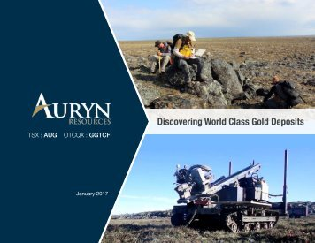 Discovering World Class Gold Deposits