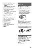 Sony CDX-G3200UV - CDX-G3200UV Consignes d'utilisation Croate - Page 5