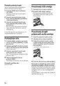 Sony CDX-G3200UV - CDX-G3200UV Consignes d'utilisation Croate - Page 6