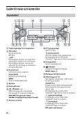 Sony CDX-G3200UV - CDX-G3200UV Consignes d'utilisation Suédois - Page 4
