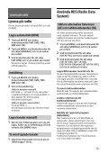 Sony CDX-G3200UV - CDX-G3200UV Consignes d'utilisation Suédois - Page 7