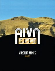 virgilia mines - American International Ventures, Inc.